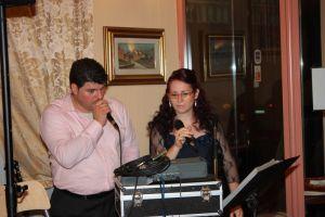 Davide e Rossella ospiti ad un matrimonio